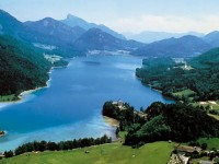 Alpine Beaches in Salzburg: Wolfgangsee and Fuschlsee