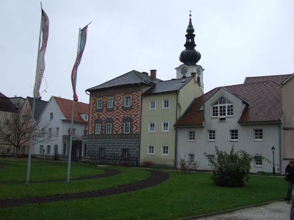 Old houses in Wels