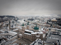 Salzburg as the city of winter wonderland