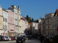 City center with the house of Schubert