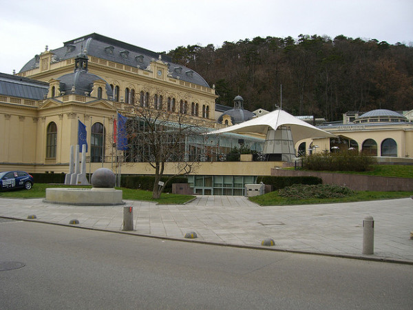 The Casino in Baden, Austria