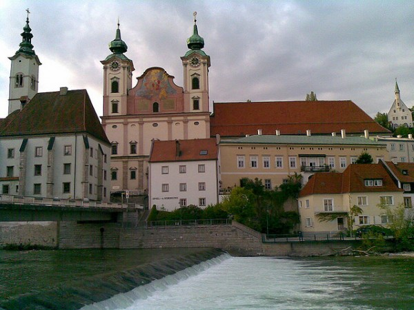 The beautiful town of Steyr