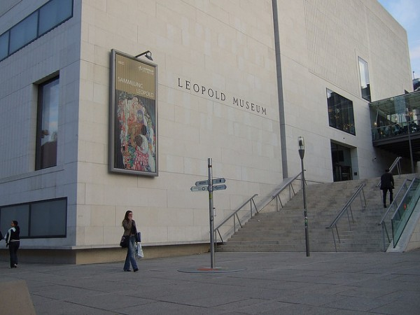 The Leopold Museum in Museumsquartier