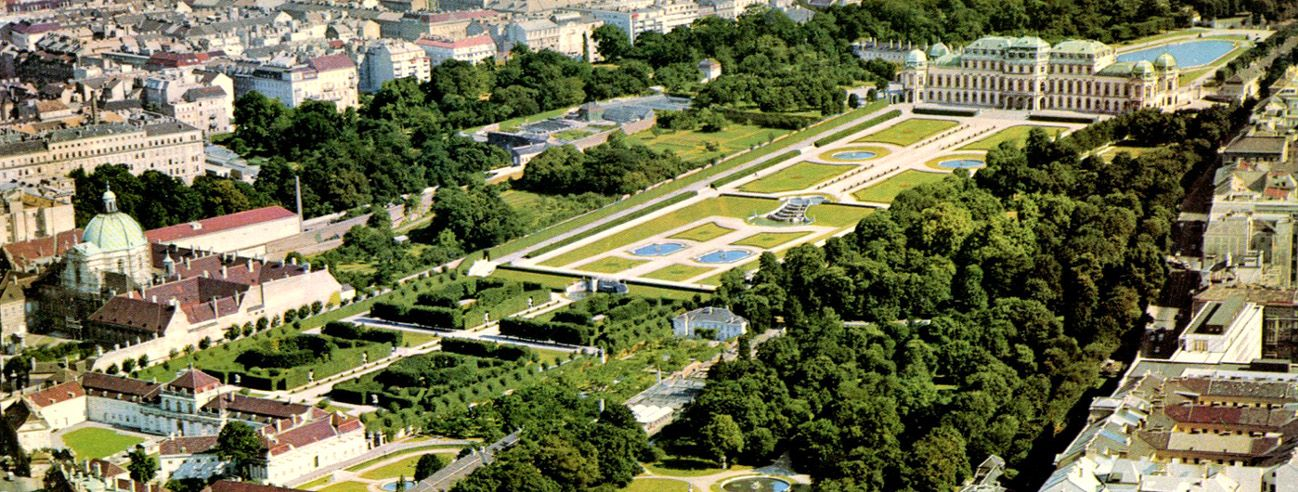 the belvedere palace in vienna