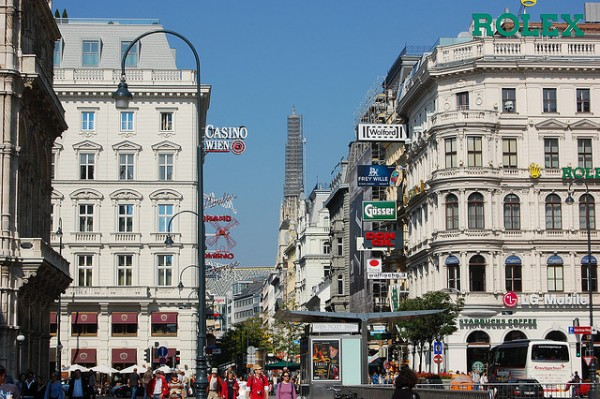 Kartner Strasse in Vienna