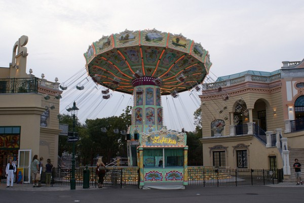 The Luftikus in Prater Amusement Park