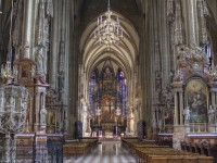 The Stephansdom in Vienna