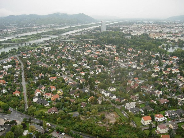 View of Vienna from the Donauturm