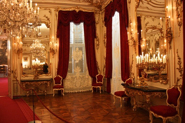 Room of the Schonbrunn Palace