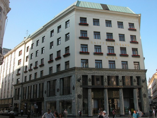 The Looshaus in Vienna