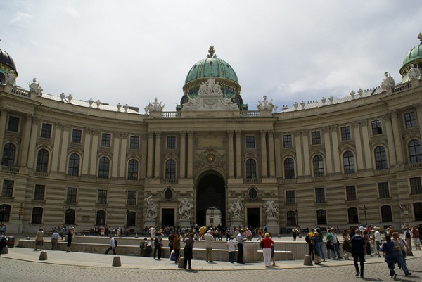 The Michaelertrakt of the Hofburg Palace
