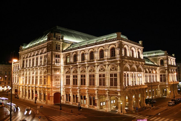 The State Opera in Vienna