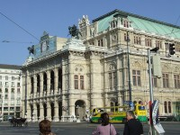 The Wiener Staatsoper or the State Opera in Vienna