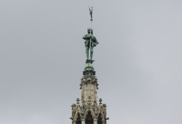 The statue of the Rathausmann