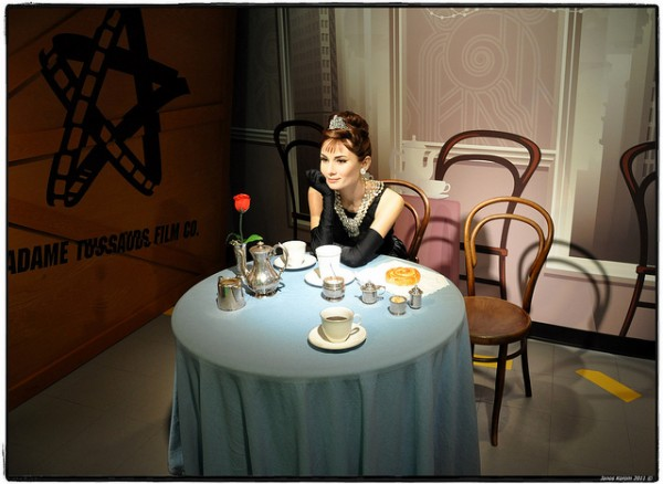 Audrey Hepburn in the Madame Tussauds Museum