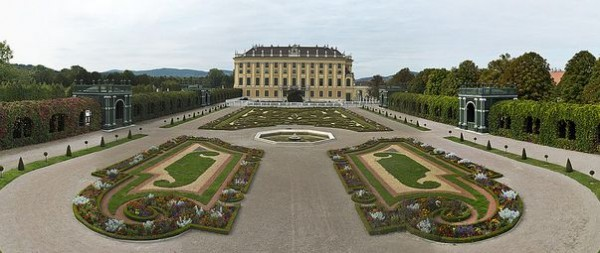 Gardens of the Sconbrunn Palace