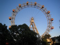 The Ferris Wheel in the Prater