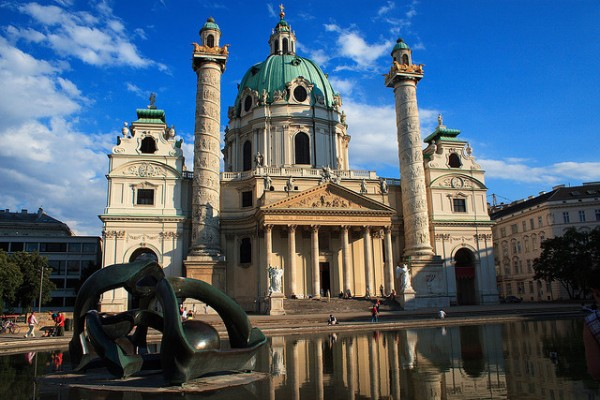 The Karlskirche in Vienna