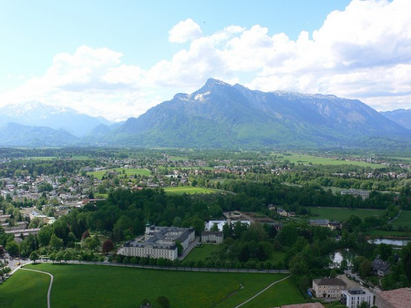 View from the Hohensalzburg Fortress
