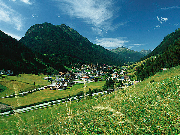 The surroundings of Ischgl