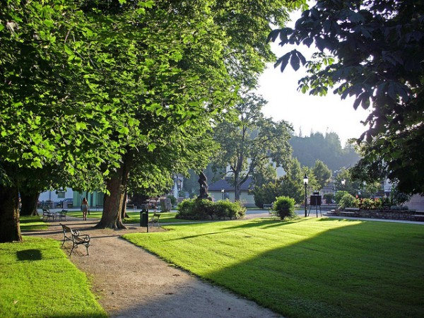 Park in Bad Aussee