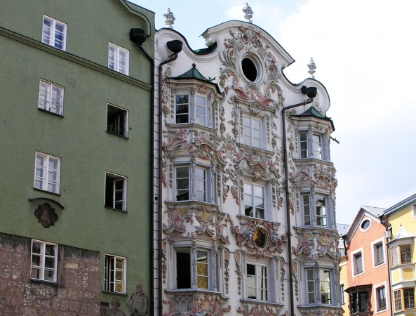 The Helblinghaus in Innsbruck