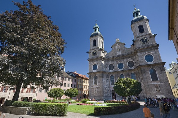 The Saint Jacob Dom in Innsbruck