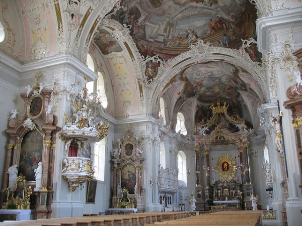 The Wilten Basilica in Innsbruck