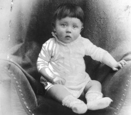 The baby Hitler