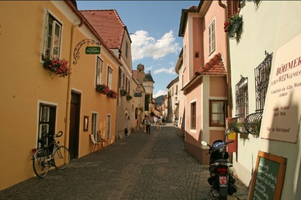 The beautiful city of Durnstein