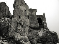 The ruins of the Durnstein Castle