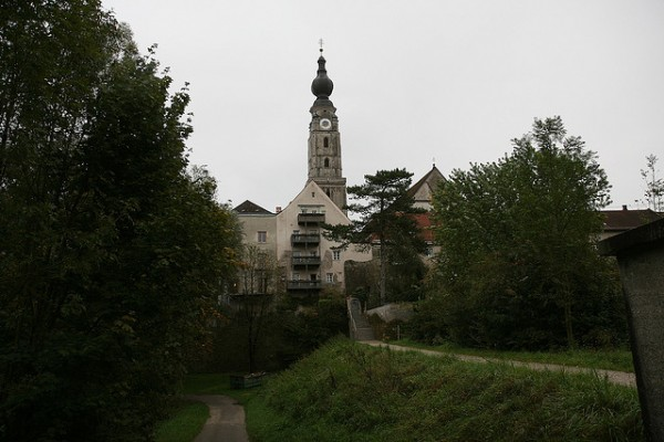 The tower of Branau am Inn