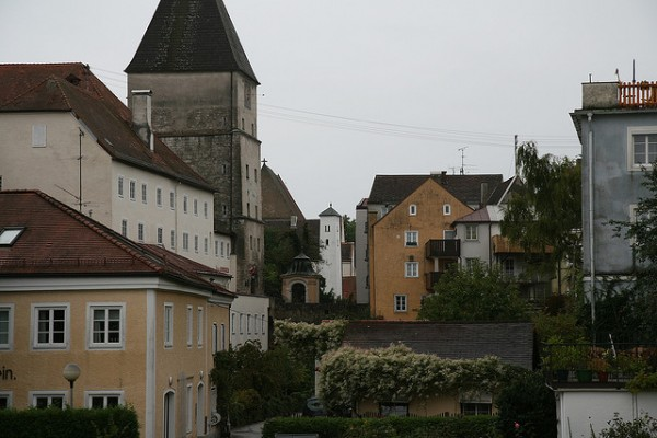 The town of Branau am Inn