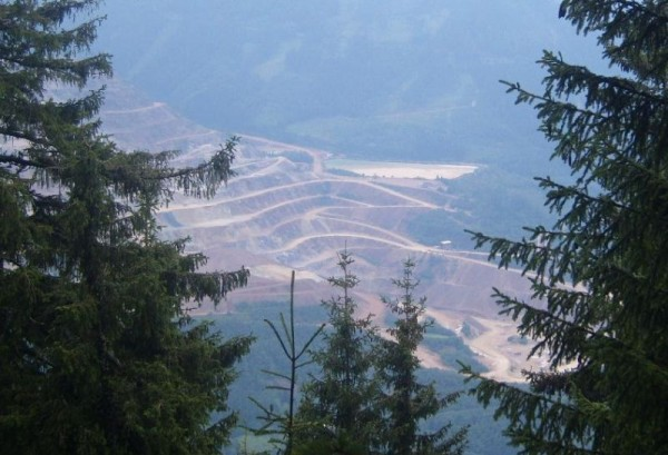 The Erzberg mine