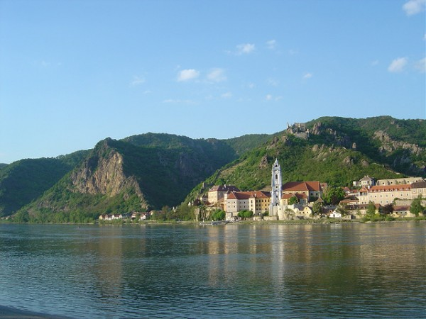 The city of Durnstein