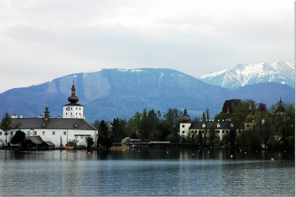 Ort Castle on the Lake Traun