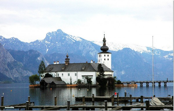 Ort Lake Castle in Gmunden