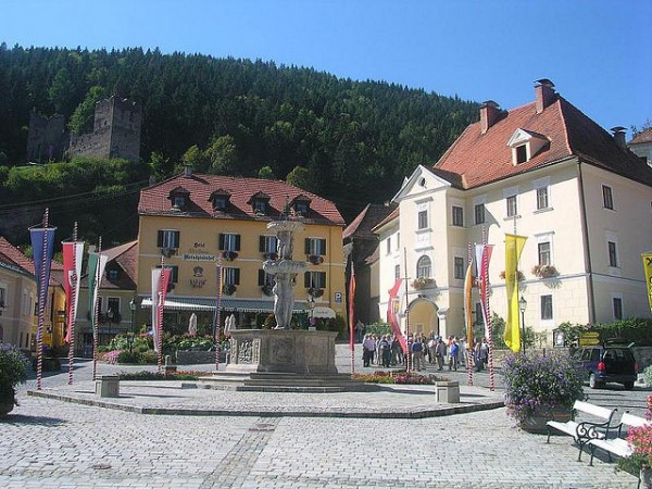 The Hauptplatz of Friesach