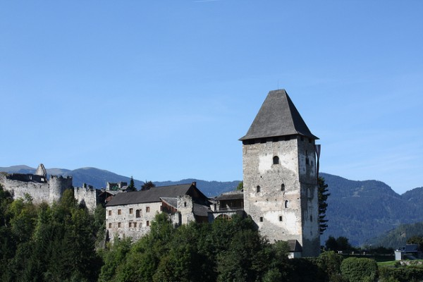 The Petersberg Castle in Friesach