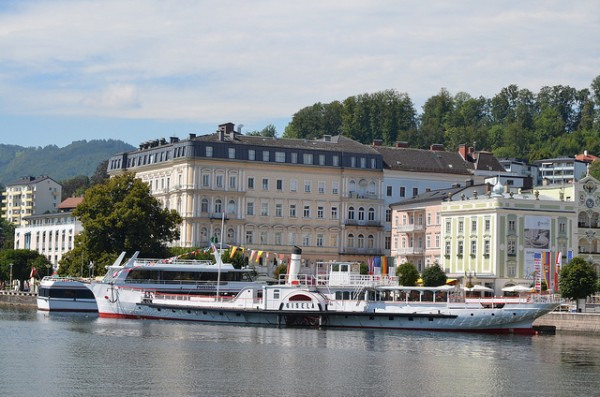 The Traunsee at Gmunden