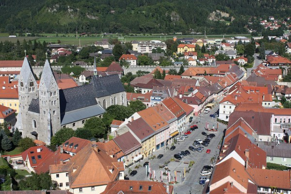 The town of Friesach