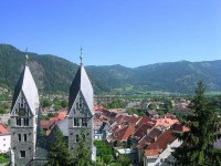 The medieval town of Friesach