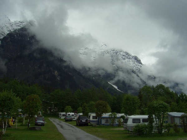 Beautiful camping place in Austria