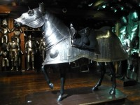Horse armor in the Armory of Graz