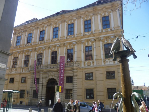 The Attems Palace in Graz