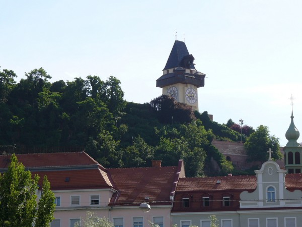 The Clock Tower of the Schlossberg Hill