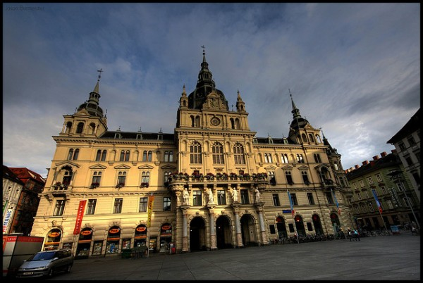 The Town Hall of Graz