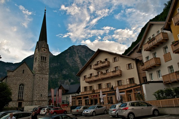 The Chapel in Hallstatt