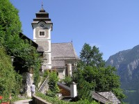 The Parish Church and the Chapel in Hallstatt