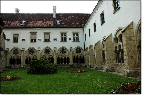 The monastery of Heiligenkreuz